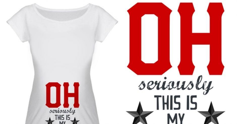 ciążowa odzież, koszulki ciążowe, śmieszne koszulki
