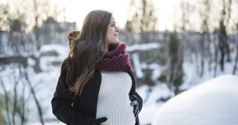 ciążowe płaszcze