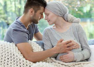 Ciężarna chora na raka