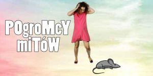 Ciężarna przestraszyła się myszy