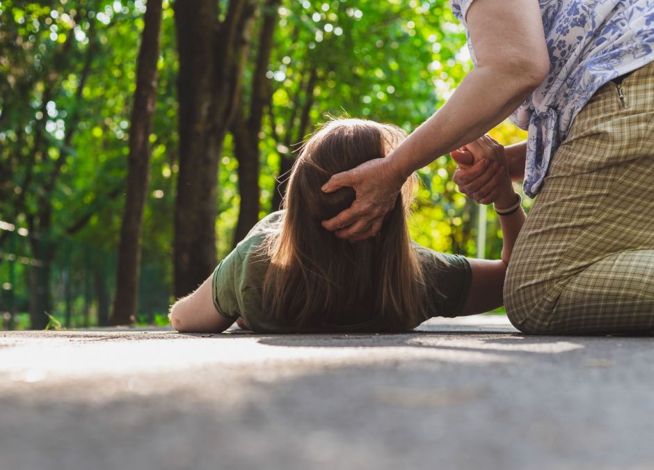 Ciężarna zemdlała na ulicy