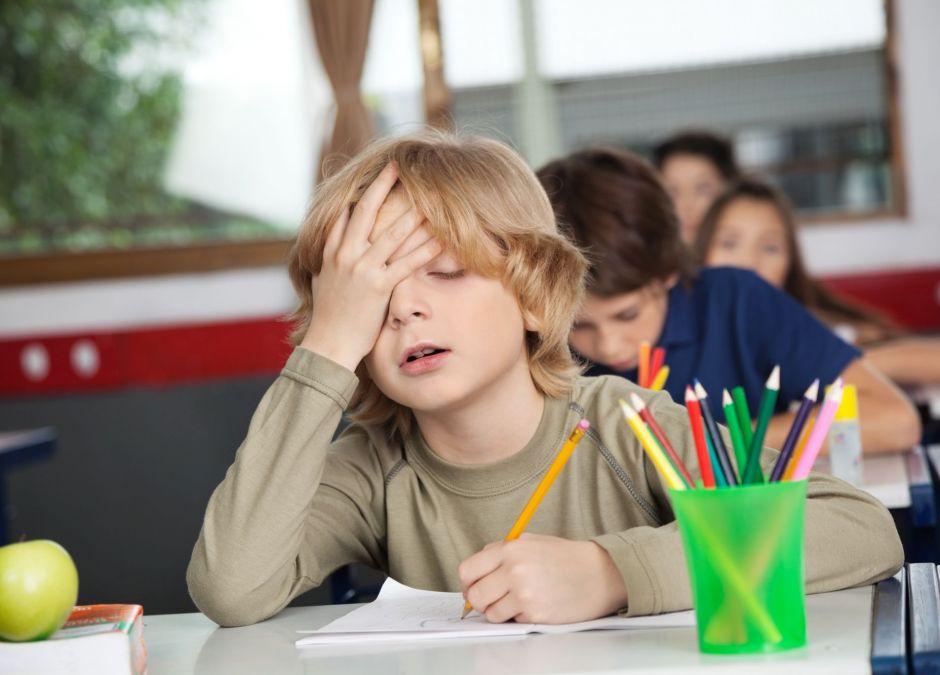 ciężki powrót dzieci do szkół