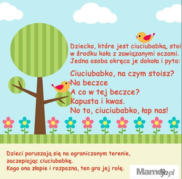 ciuciubabka - zabawa ruzhowa dla dzieci