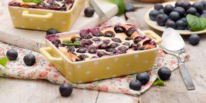 Clafoutis z jagodami