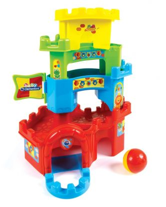 Wieża z kulkami dla dzieci