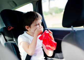 co na chorobę lokomocyjną u dziecka