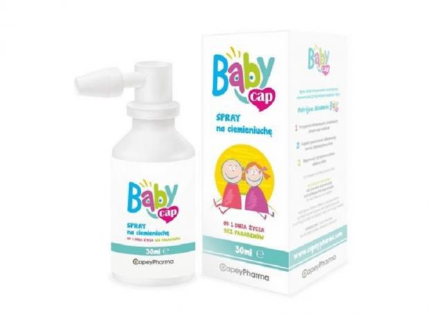 co na ciemieniuchę Spray na ciemieniuchę Babycap