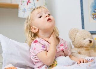 Co na suchy kaszel u dziecka