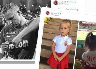 córeczka Kamila Glika i trudy dzieciństwa piłkarza