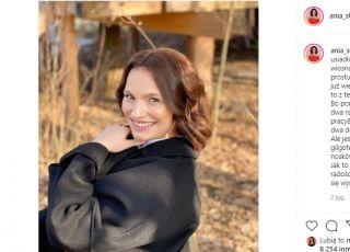 Córka Ani Starmach jest zachwycona jej ciążowym brzuszkiem