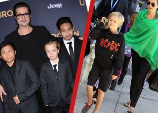 córka Jolie i Pitta zmienia płeć bierze hormony