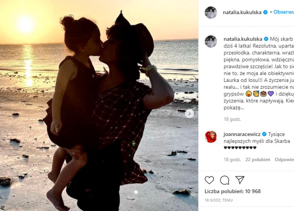 Córka Kukulskiej kończy 4 lata