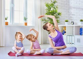 Ćwiczenia z dzieckiem, joga