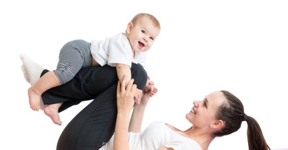Ćwiczenia z niemowlakiem