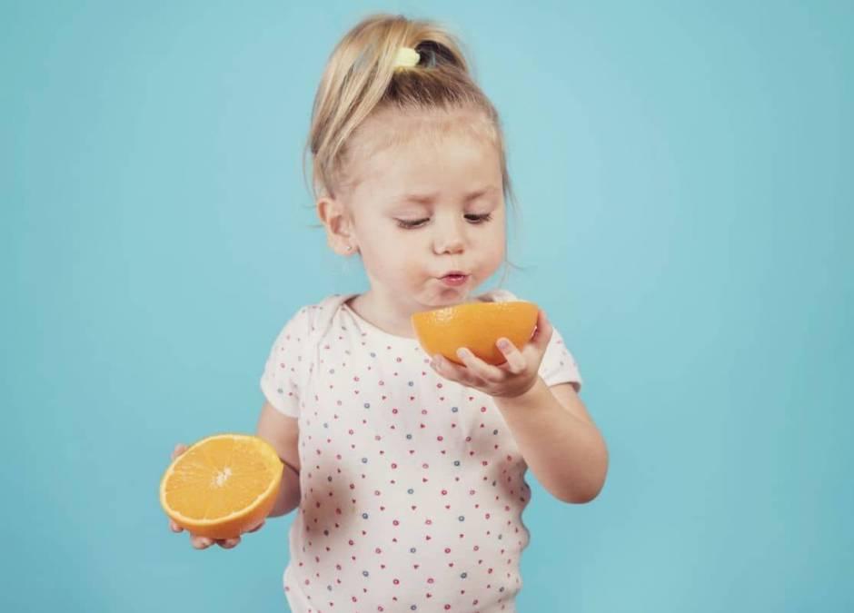 cytrusy dla dziecka