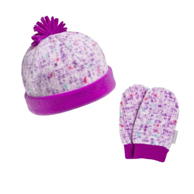 czapka dziewczęca i rękawiczki
