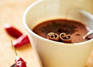 czekolada, gorąca czekolada, cynamon, kakao