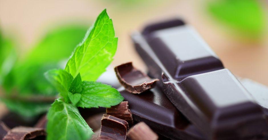 czekolada, mięta, czekolady, kakako