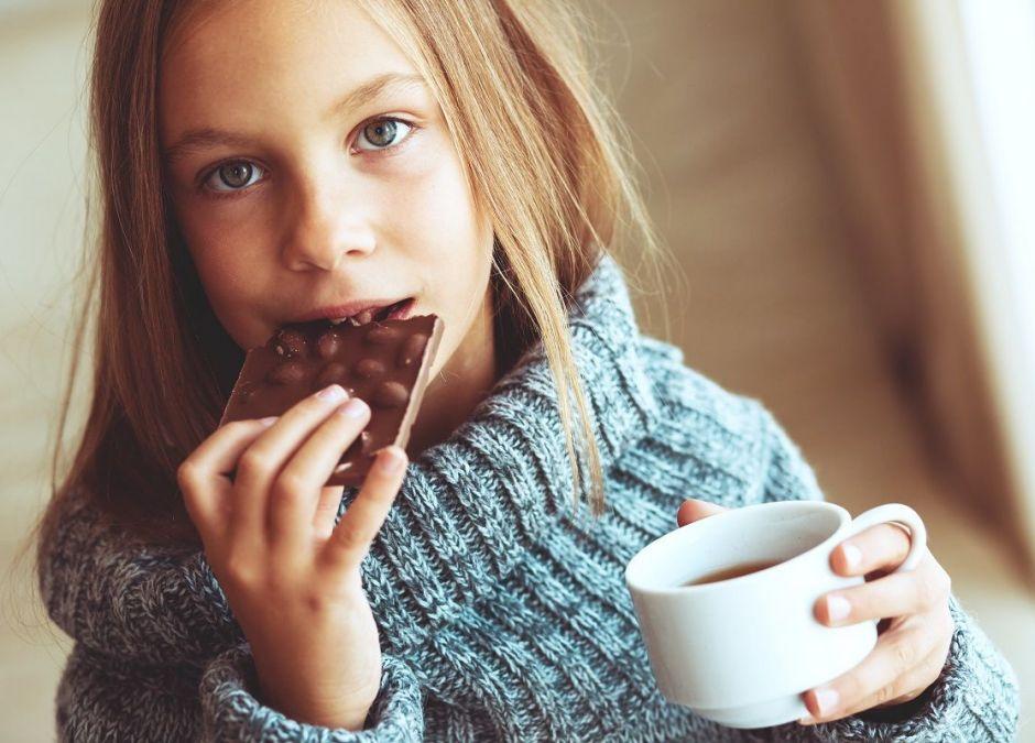 Czekolada pomaga na kaszel bardziej niż syrop