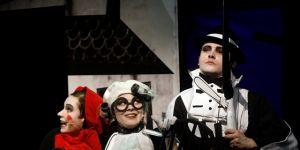 czerwony kapturek, teatr, spektakl