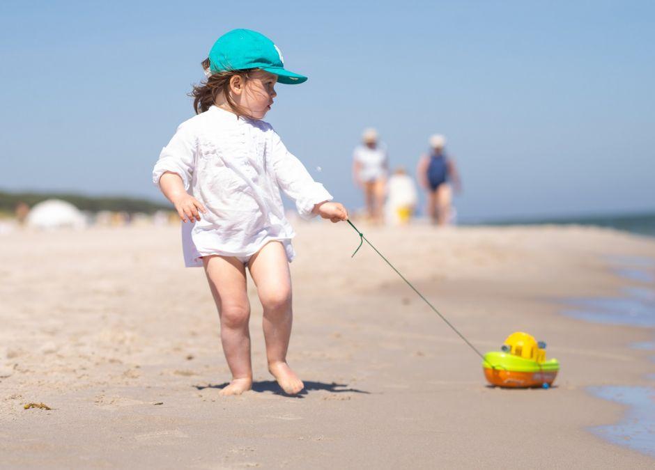 Czteroletnia dziewczynka zgubiła się na plaży