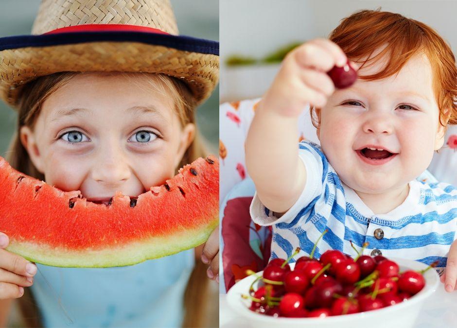 czy owoce sezonowe mogą być trujące dla maluszków i starszaków