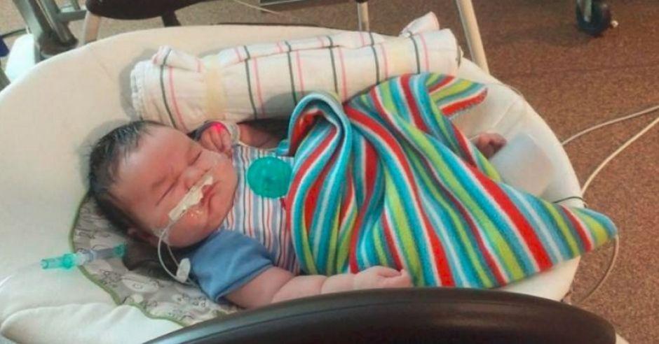 Czy Waylon Cole to najcięższy noworodek na świecie?