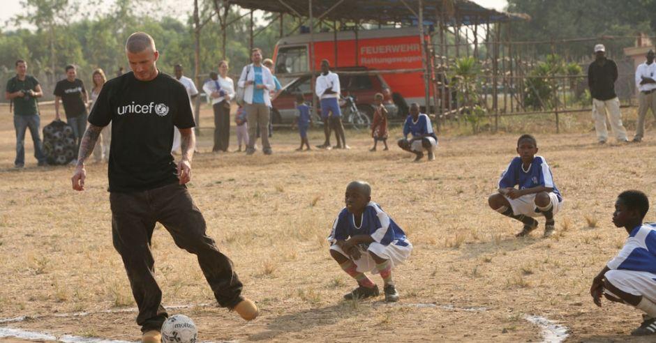 David Beckham, Ambasador Dobrej Woli UNICEF