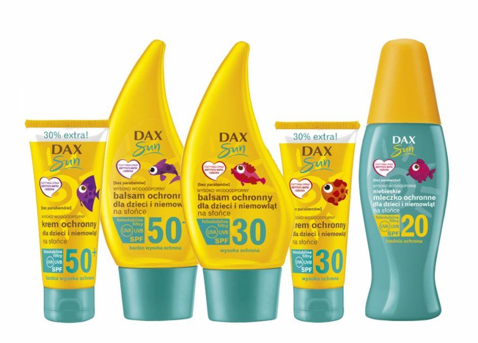 dax kremy dla dzieci SPF