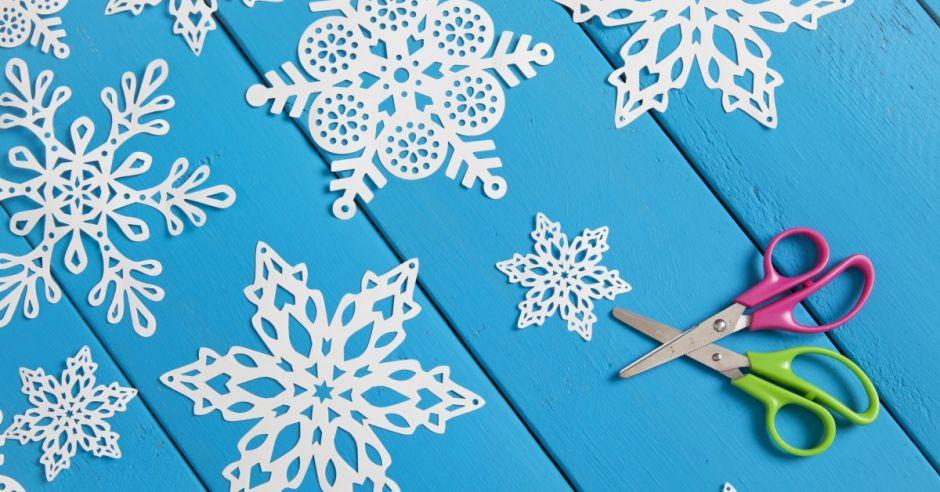dekoracje świąteczne, śnieżynka