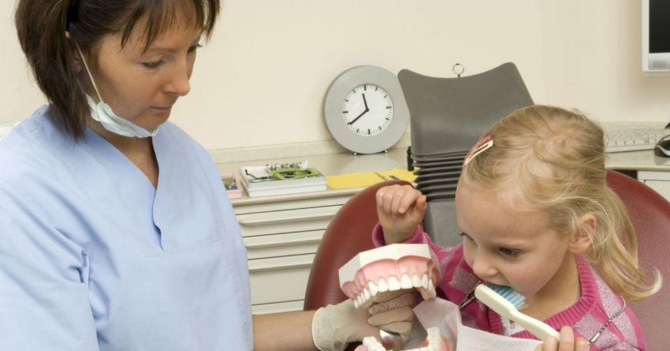 dentysta, zdrowie, dziecko