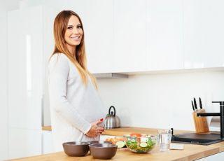 Dieta w ciąży trymestr po trymestrze