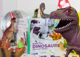 Dinovember - dinozaury i książka