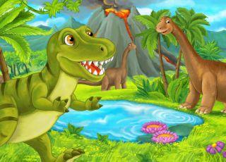 dinozaury kolorowanki