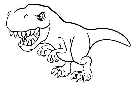 dinozaury kolorowanki tyranozaur