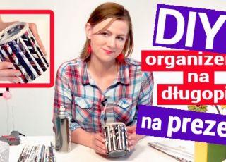 DIY organizer Jak zrobić organizer na długopisy