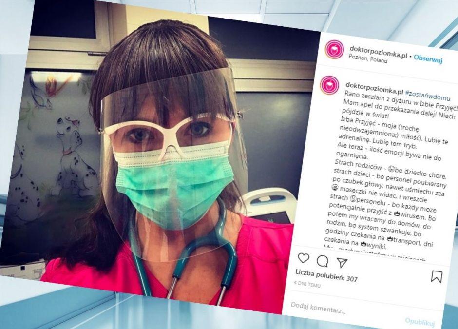 Doktor Poziomka apeluje do rodziców przeziębionych dzieci
