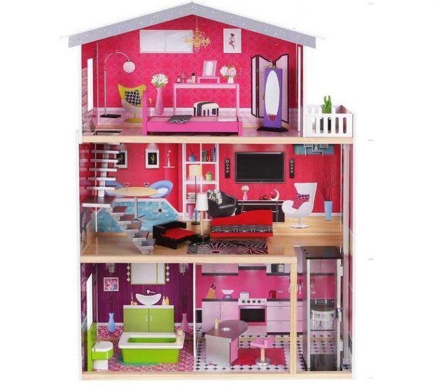 domek dla lalek Barbie z windą