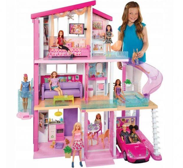 domek dla lalek barbie ogromny