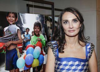 Dominika Kulczyk z dziećmi