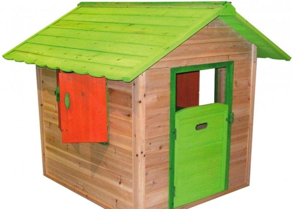 Domki dla dzieci, Drewniany domek ogrodowy