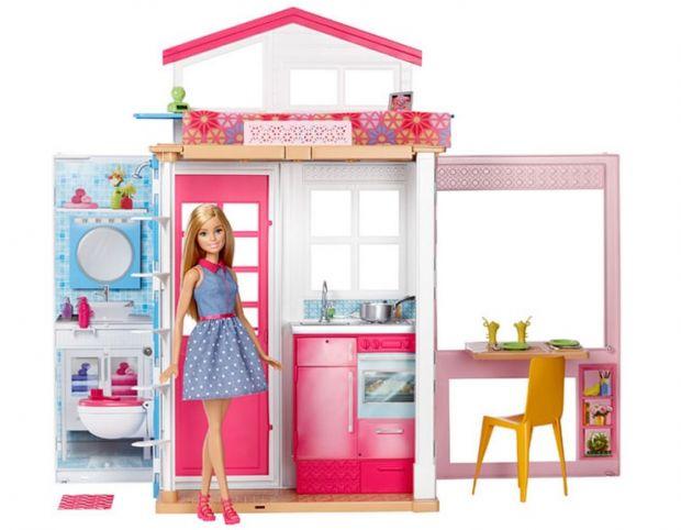 domki dla lalek Barbie domek z lalką