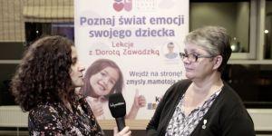 Dorota Zawadzka prowadzi warsztaty dla rodziców