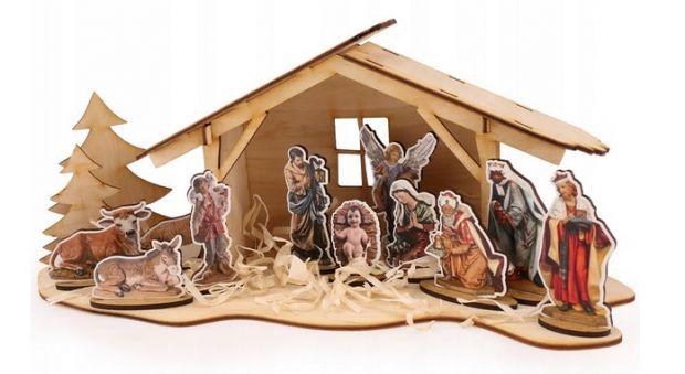 szopki bożonarodzeniowe do dekorowania