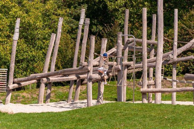 Drewniane drabinki