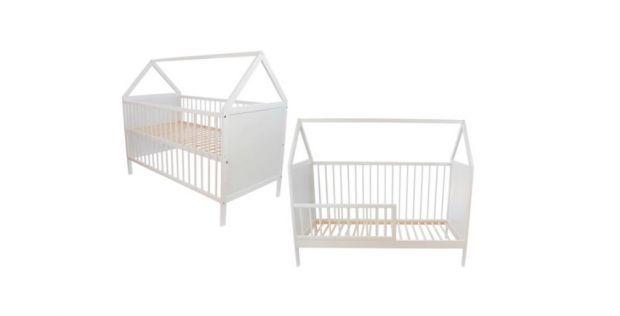 łóżeczko domek dla niemowlaka
