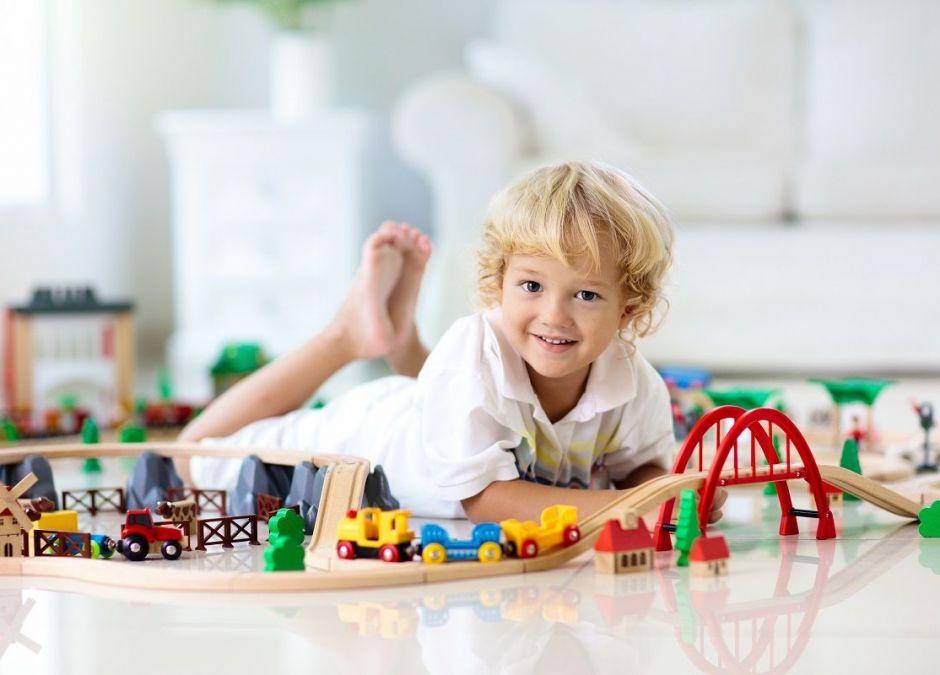 Drewniane zabawki z Lidla