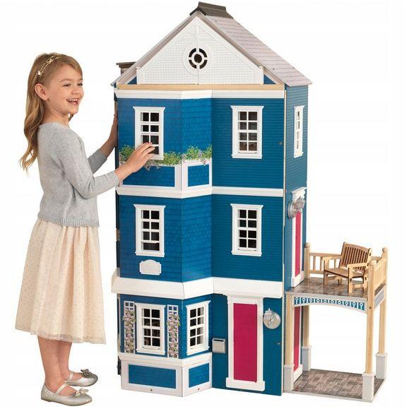 drewniany domek dla lalek Kindercraft