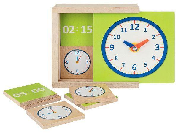 Drewniany zegar z Lidla