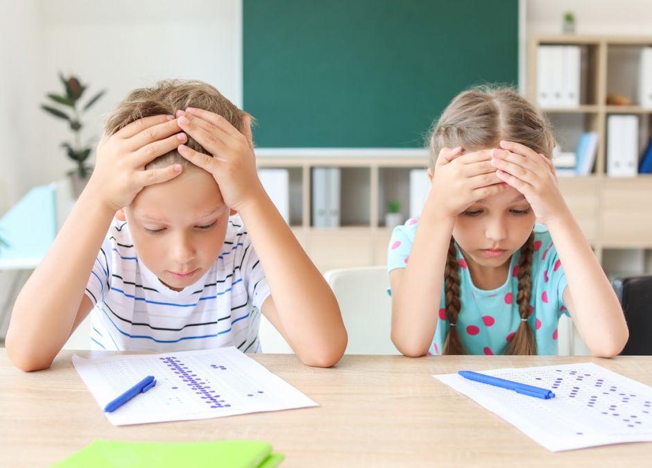 duża liczba sprawdzianów w szkołach